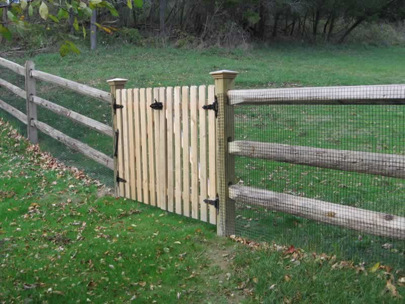 Post and Rail | Yaboo Fence Company